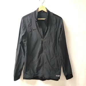 Nike Small Authentic Soccer Black Zip Up Jacket